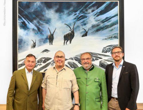 Weidinger Gemälde für Jagd Österreich Dachverband